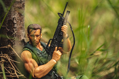 Rescue Mission (3rd-Rate Photography) Tags: predator dutch dutchschaefer arnoldschwarzenegger m16 m203grenadelauncher toy toyphotography actionfigure neca canon 100mm macro jacksonville florida 3rdratephotography earlware 365