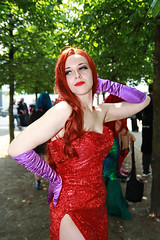 MCM Saturday 2018 II (Lee Nichols) Tags: mcmsaturday2018 mcm canoneos600d cosplay cosplayers costumes comiccon costume mcmlondonmay2018 mcmcomiccon jessicarabbit