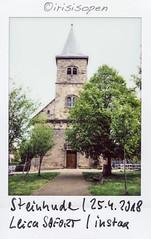 Kirche # 167 # Leica SOFORT Fuji instax color - 2018 (íṛíṡíṡôṗĕñ ◎◉◎) Tags: leica sofort fujifilm fuji instax analog color irisisopen