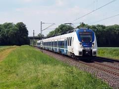 National Express 873 (jvr440) Tags: trein train spoorwegen railroad railways bornheim national express talent 2