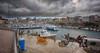 (320/18) El Port Antic de Ciudadela (Pablo Arias) Tags: pabloarias photoshop photomatix capturenxd españa cielo nubes arquitectura puerto agua mar mediterráneo bote barco yate coche carretera ciudadela menorca