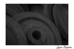 Train wheel (Broyson) Tags: train tires wheel blackandwhite monochrome streetphotography street old vintage urban urbanphotography film zenit ilford