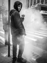 Nothing is more memorable than a smell. (Markus Binzegger) Tags: blackandwhiteblacknwhiteblackwhitebnwstreetbnwstree blackandwhite blacknwhite blackwhite bnwstreet bwstreet decisivemoment magnumphotos monochrome photography photostreet street streetbnw streetphotographer streetphotography streetbw streetphotobnw streetphotobw streetphotographybw streetphotographers streetphotos streetscene streetshot topbnw smell steam newyork ny gutter