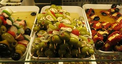 Sunday Colours - Postcards from Madrid (Pushapoze (MASA)) Tags: spain madrid tapas olives peppers explore
