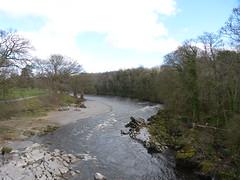Kirkby Lonsdale - River Lune from Devils Bridge 180405 2 (maljoe) Tags: kirkbylonsdale cumbria rnblune