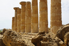 The Greeks were here (Let Ideas Compete) Tags: greekruins akraga valleyofthetemples temple greektemple agrigento sicily valledeitempli history