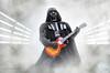 STAR WARS - Darth Vader playin' Gibson Les Paul - 501st Italica Garrison all'Omnia Center per la proiezione di SOLO (Alessandro_Morandi) Tags: star wars darth vader 501st italica garrison allomnia center per la proiezione di solo