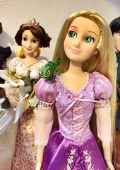 """I've been looking out a window for 18 years, dreaming..."" (honeysuckle jasmine) Tags: princess disney dolls doll tangled rapunzel"