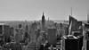 New York City (Elena L. Expósito) Tags: newyorkcity arquitectura architecture building edificio blackwhite skyline rascacielos skyscrapers topoftherock views