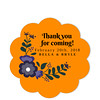 Vineyard Orange Thank You Sticker (Set of 25 pcs) (Gift Elements) Tags: gifttags wedding stickers weddingtags weddinggifttags weddingstickers thankyou vineyard orange giftwrapping favour favor favorsticker weddingparty creative customise customize personalise giftelements