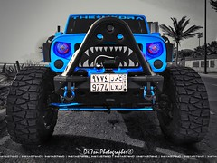 Build The Story You Want To Tell , Its THE HYDRA Things ! (dr.7sn Photography) Tags: thehydra hydra hydro hydroblue hassan hailhydra hidprojector hdr headlight jeddah jeep jeepwrangler jk jku jeepers jeeplife jeeps blue bluewrangler bluejeep bodyarmor beach beautiful nikon nitto 37x1350r22 ruggedridge spartangrille