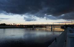 DSC09614 1 (LegionGomel) Tags: sony a7ii color gomel vgomele park belarus bridge river water sky
