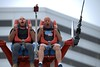 One Second After Takeoff (Scott 97006) Tags: ride slingshot amusement guys men fear excitement surprise thebull987