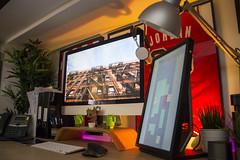 Office/Workshop 2018 (Bridge Computers) Tags: office workspace apple appleimac imac macmini lifehacker home homeoffice goals computer desk