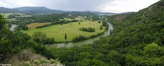 Panoramique du belvédère sauvage du Bévois  - Rennes Sur Loue