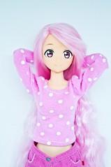 New body for Pie! (vanyrei) Tags: azone pureneemo character pink pinkiepie pinkhair cute kawaii pastel color reroot doll