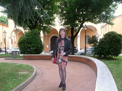 Cremona - Piazza Giovanni XXIII (Alessia Cross) Tags: crossdresser tgirl transgender transvestite travestito