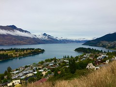 Hilltop View of Queenstown, New Zealand (Seymour Lu) Tags: