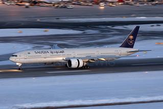Saudia Boeing 777-300ER HZ-AK24
