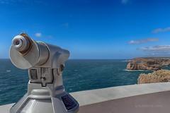 Sagres, Cabo de São Vicente (Algarve, Portugal) (Placido De Cervo) Tags: sagres faro cabodesaovicente algarve portugal costavicentina mare sea panorama azzurro blu sky telescopio veduta telescope falesia