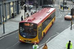 MC 77 @ Station Street, Birmingham (ianjpoole) Tags: midland classic scania l94ub wright solar yn05gxp 77 working west midlands railway rail replacement bus service from lichfield trent valley birmingham new street