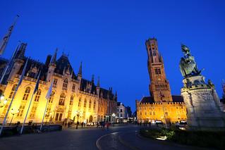 Place De Bruges, Brugge, Belgium