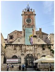 Andy Warhol in Rector's Palace (aiva.) Tags: croatia adriatic zadar hrvatska jadran dalmatia dalmacija balkan tower clock architecture