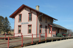Chicago, Milwaukee, St. Paul & Pacific Railroad Depot - New Glarus, WI (The Bouncing Czech) Tags: wisconsin newglaruswi