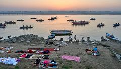 """Varanasi (toshu2011) Tags: varanasi benares banaras uttar pradesh ganga ganges river hinduism sacred city kashi india hindu ghat ghats banks ritual bathing bath life death water heritage light peace """"بنارس"""" """"काशी"""" """"बनारस"""" """"वाराणसी"""" """"ভারত"""" baba guru sadhu sadhou mogul travel photography olympus em1mkii """"em1 mk2"""" faith eternal"""