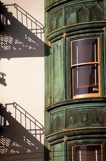 "San Francisco - Sentinel Building/Columbus Tower ""Balcony Shadows & Window"""