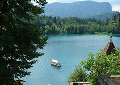 Bled Island (Kaeko) Tags: lake bled slovenia europe travel vacation boat island holiday water trees