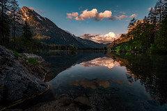 Magical sunrise... (agialopoulos) Tags: landschaft landscape lake hintersee germany bavaria berge natur nature sunrise mountain