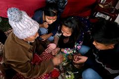Images from Rural Bengal (pallab seth) Tags: saraswatipuja idol puja অপরিচিতবাংলা unseenbengal festival incrediblebengal saraswati bengal bangla pujo southasia india westbengal সরস্বতীপূজা clayidol hinduism religious religion goddessoflearning wisdom jhalong kalimpong rituals