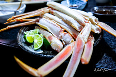 Crab leg and clam (akira.nick66) Tags: closeup crab crableg fish food foodie foodies holiday japan japanesefood lovejapan macro nigiri osaka seafood shashimi sushi tour tourism tourist travel travels tuna unagi vacation