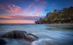 Bali (Lens Cap1) Tags: sunrise temple water longexposure bali nusadua purageger