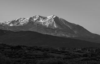 Mount Sopris at sunrise