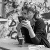 ein kühles blondes (every pixel counts) Tags: 2018 berlin beer people cellularphone smartphone bw everypixelcounts blackandwhite mitte girl blond eu city capital germany blackwhite square 11 woman apple mobiledevice móvil mobile iphone fon celular cigarettes europa daylight