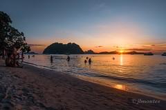 Isla Palawan El nido Filipinas  Atardecer (jlmontes) Tags: palawan sunset nikond3100 asia trip beach playa atardecer elnido filipinas samyang14mm