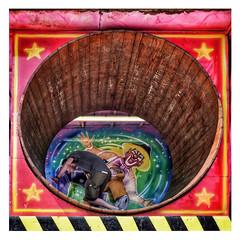 Hamster Heath (Nad) Tags: england hampsteadheath exercise london machine game colour running legs two child circus couple