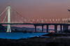 sunset eastern span lll (pbo31) Tags: oakland california nikon d810 eastbay bayarea alamedacounty evening may 2018 boury pbo31 sanfrancisco city urban baybridge 80 bridge black night dark portofoakland bay sunset orange prescott sas easternspan