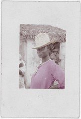 Stepping out of time Old Bight, Cat Island (rob.vndnB) Tags: library congress colorization colorized photo lomax alan photogragh photographs picture public old rvndnb archives border looking light image print year 1935 bahamians women cat island portrait