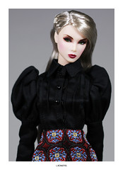 Lilith Blair (L.Royalty55) Tags: nuface nu face lilith blair recklesscollection smokemirrors exclusive wclub shantommo fashionroyalty doll integritytoys it