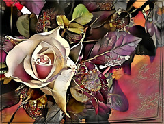 A Rose is a Rose (PaulO Classic. ©) Tags: hss samsung deepdream picmonkey photoshop