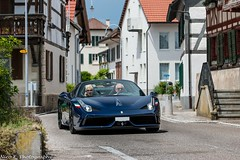 458 Speciale A (Nico K. Photography) Tags: ferrari 458 speciale a blue supercars rare nicokphotography switzerland dachsen