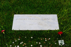 "1968-2018: Fifty years ago today...."" (D A Baker) Tags: rfk robert f francis kennedy grave headstone marker arlington national cemetery 50 fifty years ago today attorney general"