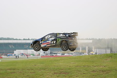 RallyX Silverstone (musxhiqe62) Tags: race johankristoffersson volkswagen vw motorsport monsterenergy rally fiarallyx england uk towcester jump dirt silverstone rallyx