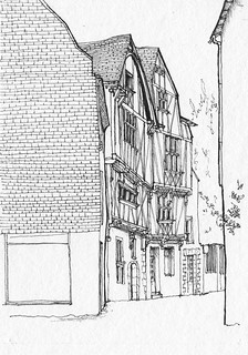 Rue Bossuet à Nantes...