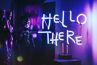 #catwoman aka #selinakyle has had many looks over the years and we're loving this #batmanreturns #michellepfeiffer #livingdeaddolls #ldd from @mezcotoyz https://youtu.be/IAAr6Sab6NU