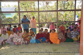 Thoubal Winter Relief 08 Jan 2016