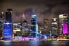 Circular Quay || VIVID 2018 || SYDNEY (rhyspope) Tags: australia aussie nsw new south wales canon 5d mkii vivid sydney vividsydney light festival vivid2018 rhys pope rhyspope city circular quay water reflections cityscape skyline